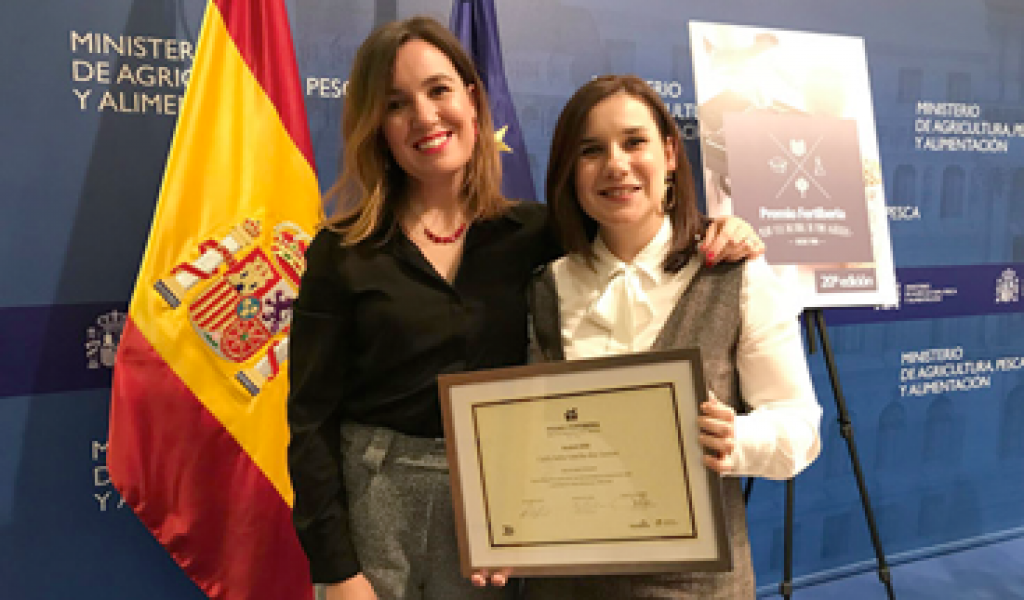 ESB researcher receives prize for best PhD thesis in the Iberian Peninsula
